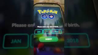 How to login t๐ Pokemon go