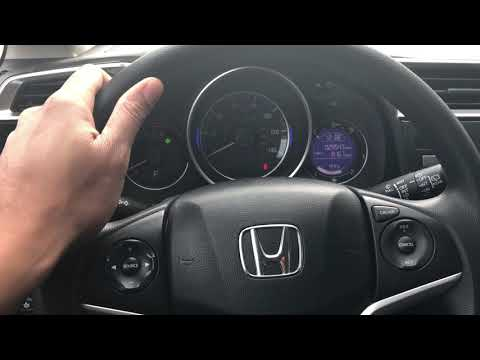 HONDA FIT - STEERING WHEEL HEIGHT ADJUST - HOW TO
