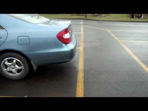 Backing Into A Car Parked Illegally