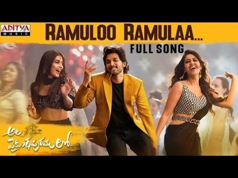 #alavaikunthapurramulo--ramuloo-ramulaa-full-song-||allu-arjun-||-trivikram||thamman-s