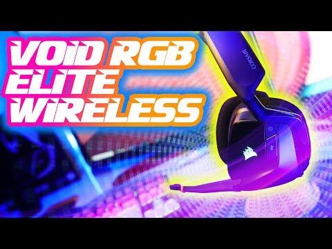 NEW 2019 Corsair Void RGB ELITE Wireless: Filling that same VOID