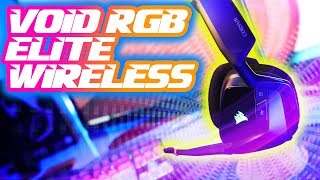 NEW for 2020 Corsair Void RGB ELITE Wireless: Filling that same VOID