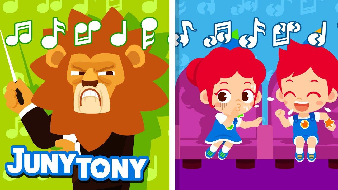 Concert Manners Song | Good Habits Songs for Kids | Preschool Songs | JunyTony