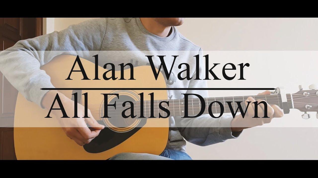 Alan Walker All Falls Downchords Youtube