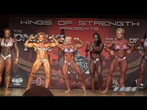 Wings Of Strength Omaha Pro 2020 – posedown – Women's Bodybuilding