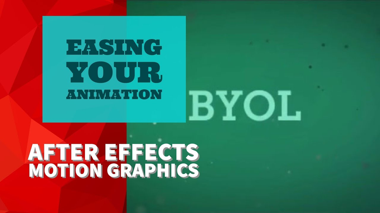 10/51 | Easing your animation in Adobe After Effects