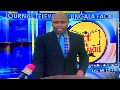 Ambassador 1 on Congo National Television !!!