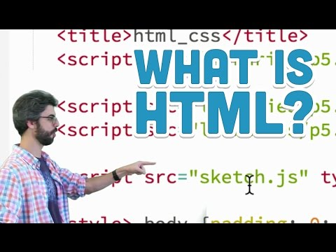 8.1: What Is HTML? - P5.js Tutorial