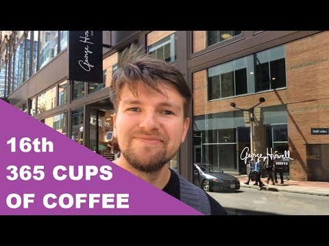 16th cup of Boston travel vlog - George Howell, Render coffee, ústřice kam se podíváš