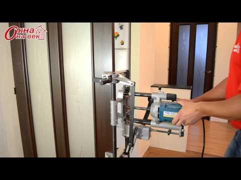 Врезка дверной фурнитуры - Межкомнатные двери