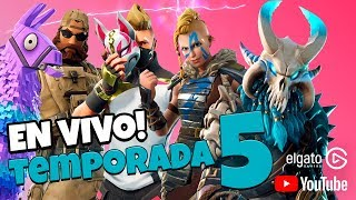 🔴🎮 FORTNITE SEASON 5 *NEW MAP, BATTLE PASS and SKINS* #Fortnite #Twitch #YoutubeGaming