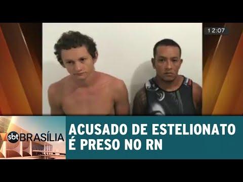 Acusado de estelionato é preso
