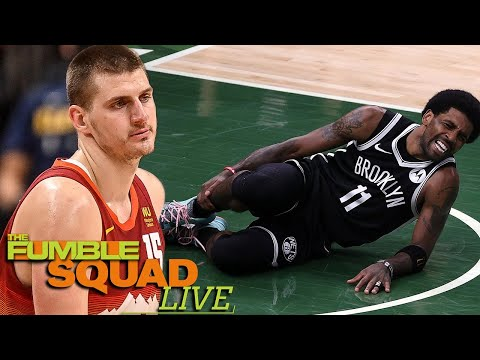 Jokic Ejected From Elimination Game & Kyrie Goes Down BAD With An Ankle Injury