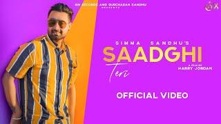 Saadghi Teri (Simma Sandhu) Mp3 Song Download