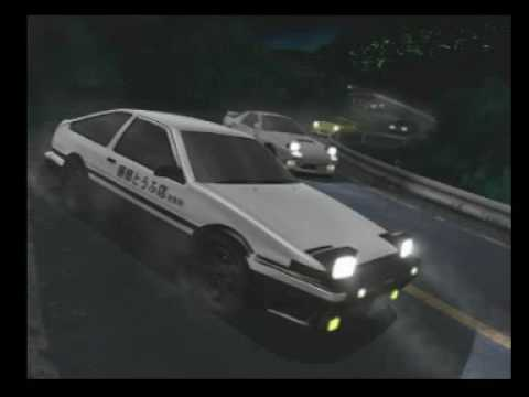 Initial D UK Soundtrack-Intro