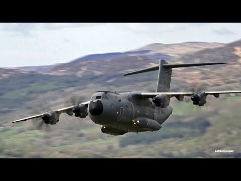 Airbus A400M Mach Loop