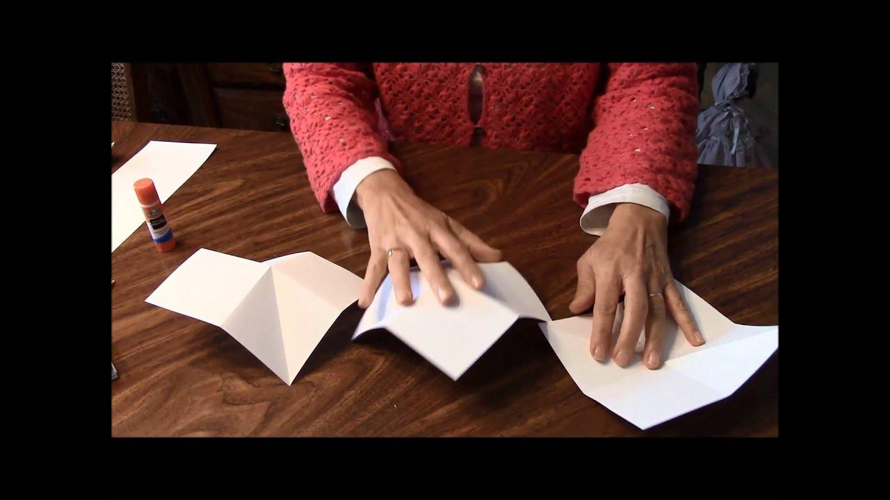 accordion fold foldy fold card youtube