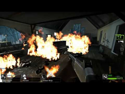 Left 4 Dead 2 w/ Chilled, GaLm, Smarty, Riorach, StraytheIrate, DemonNinja, and Tom