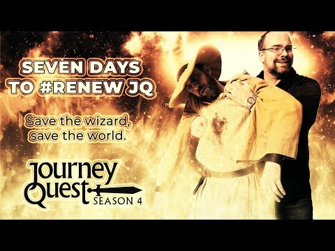 Crowdfunding season four of JourneyQuest: a CC-licensed fantasy-comedy show that treats its fans with respect