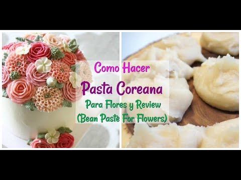 Receta Pasta Coreana Para Flores y Review