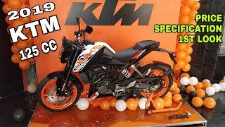 KTM DUKE 125 | 2019 | 1st LOOK | Review | Price | The Most Affordable Orange | VBO Life