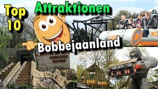 Top 10 Attraktionen - Bobbejaanland