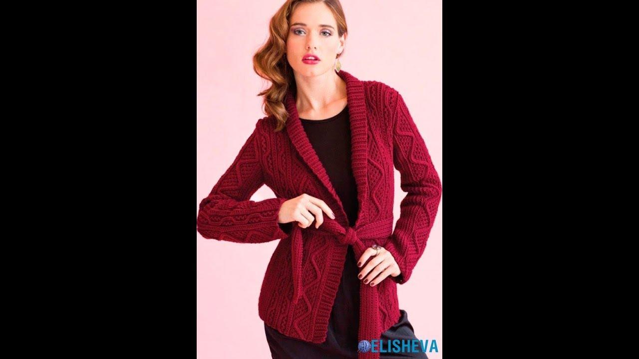 Вязание Спицами - Женские Кофты, Пуловеры - 2019 / Knitting Women's Sweatshirts Pullovers