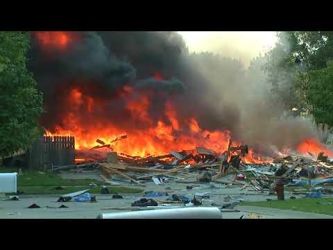 House Explodes in Lincoln, Ne (Full)