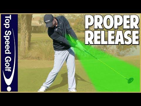 Proper Golf Swing Release