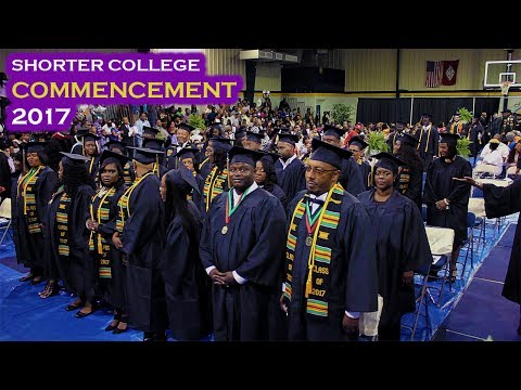 2017 Shorter College Commencement Video
