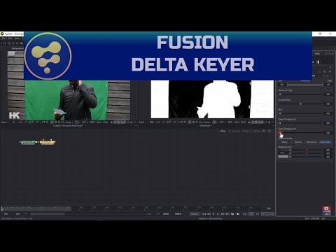 Fusion - Yeşil Ekran Delta Keyer