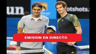 Murray vs Federer Tenis Exhibition Glasgow