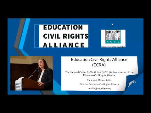 Introduction to the Education Civil Rights Alliance