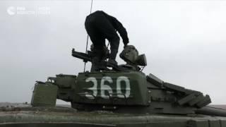 Контрольные стрельбы экипажей танков Т 72