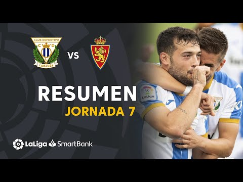 Leganes Zaragoza Goals And Highlights