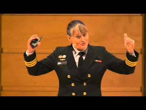 Steering Navy on a New Course - Part 2 - Commander Roz Astfalck