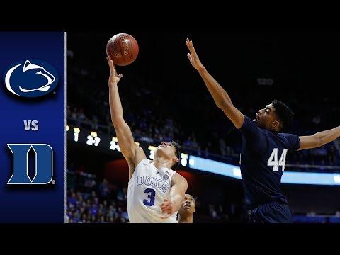 Duke vs. Penn State Basketball Highlights (2016-17)