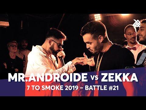 MR.ANDROIDE Vs ZEKKA | Grand Beatbox 7 TO SMOKE Battle 2019 | Battle 21