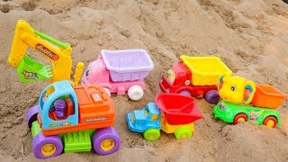 Toy Cars For Kids | Color full Car | Excavator Dump Truck Road Roller Construction Vehicles Toys