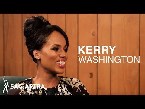 Actor to Actor:SAG-AFTRA President Gabrielle Carteris interviews Kerry Washington