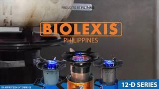 BIOLEXIS Multi Fuel Gasifier Stove/ 12-D Special Edition (2018) RICE HUSKS, WOOD, CORN COBS ETC