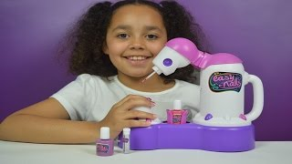 Easy Nails Nail Spa | Tutorial | Kids Toy Review