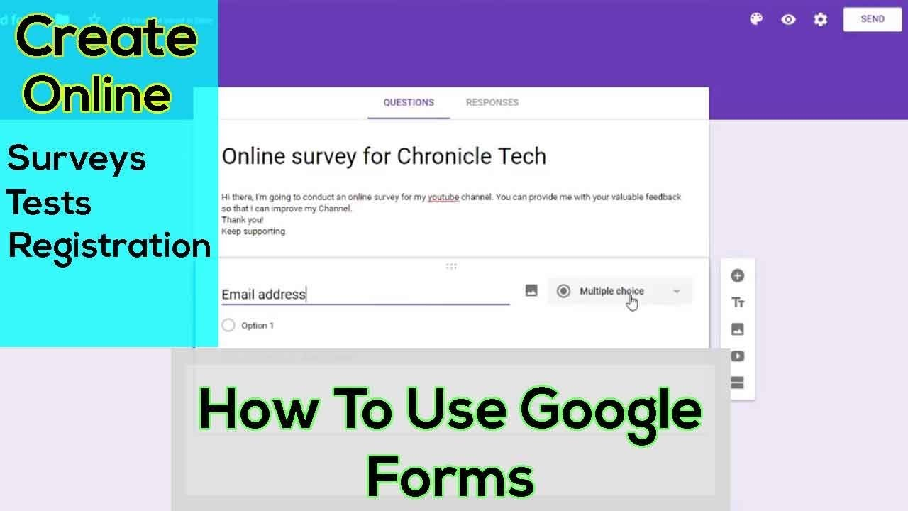 What is Google Forms 2019 and How To Use Google Forms - Meet