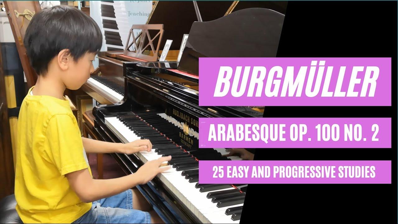Download Burgmüller: Arabesque Op. 100 No. 2