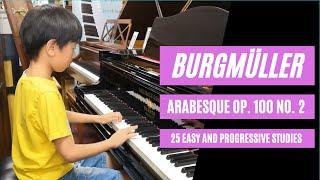 Burgmüller: Arabesque Op. 100 No. 2
