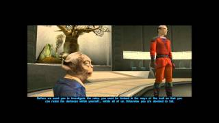 Let's Play KotOR: Part 21 - Jedi Training