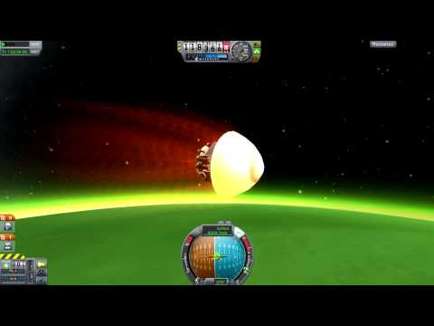 Kerbal Space Program - Gratuitous Re-Entry