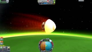 Kerbal Space Program - Gratuitous Re-Entry