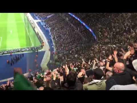 Celtic Fans in Paris