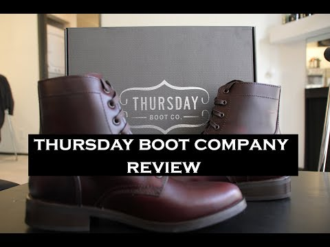 Women's Thursday Boot Company Review